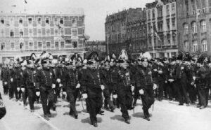 Bergparade 1935, Hindenburg