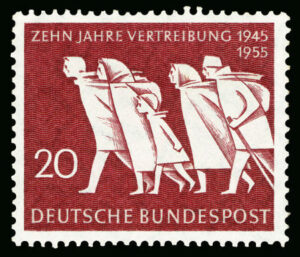 Briefmarke zum Gedenken an die Vertreibung 1945