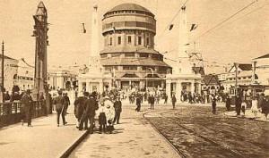 Postkarte Oberschlesischer Turm in Posen