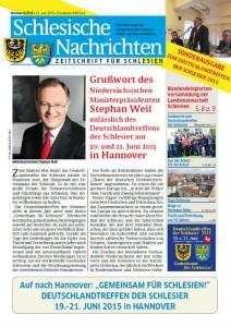 Schlesische Nachrichten Juni 2015