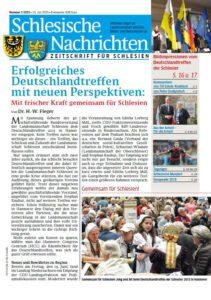 Schlesische Nachrichten Ausgabe Juli 2015