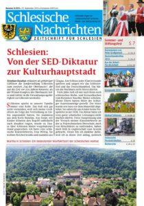 Schlesische Nachrichten-September 2015