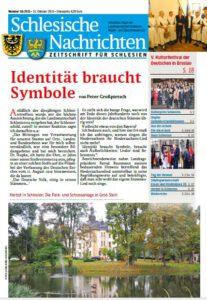 Schlesische Nachrichten Oktober 2015