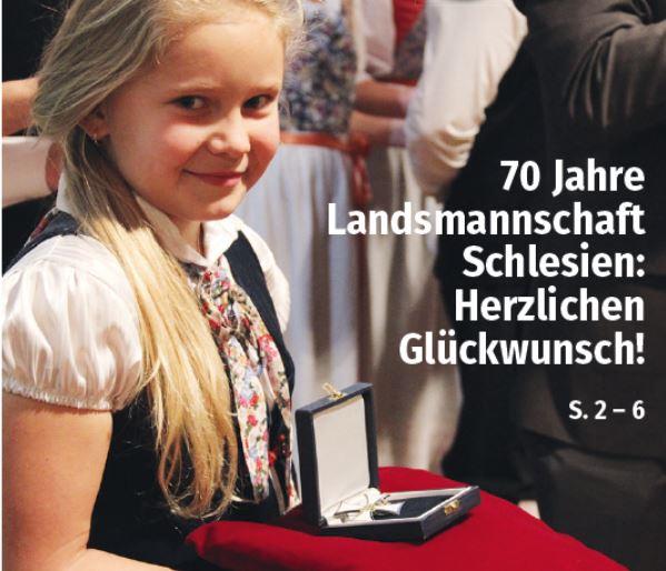 70 Jahre Landsmannschaft Schlesien