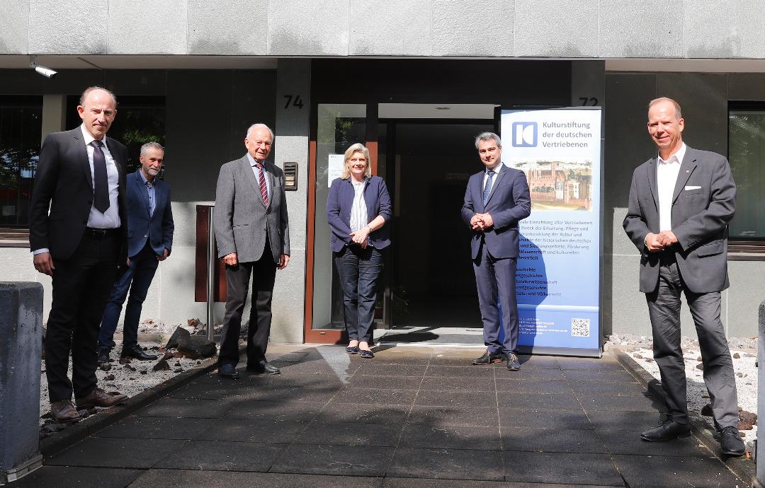 Kulturstiftung der deutschen Vertriebenen im Dialog mit  den zuständigen Landesbeauftragten