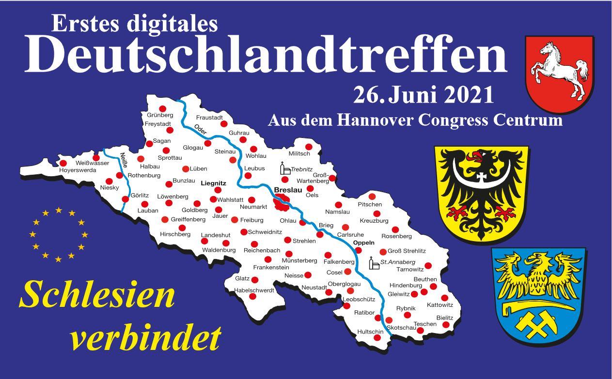 26. Juni 2021: Deutschlandtreffen erstmals als Digital-Veranstaltung
